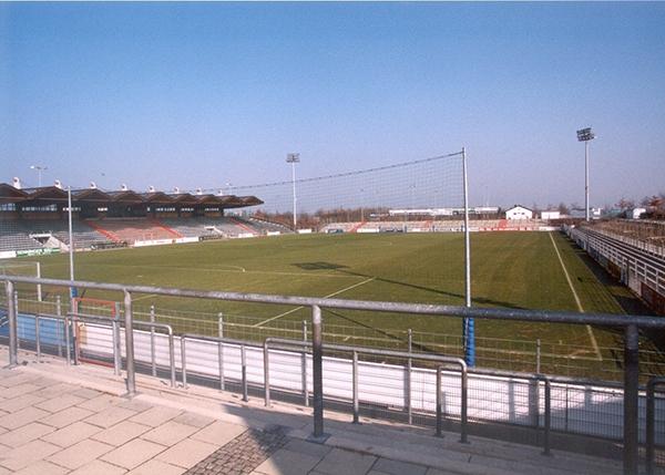 Sportpark bei Eröffnung - Bildrechte: Archiv SpVgg Unterhaching