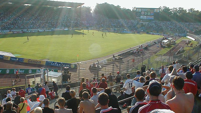 Unterhaching in Frankfurt - Saison 2000/01