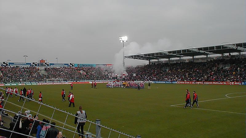 Unterhaching gegen Bayern München Saison 2000/01