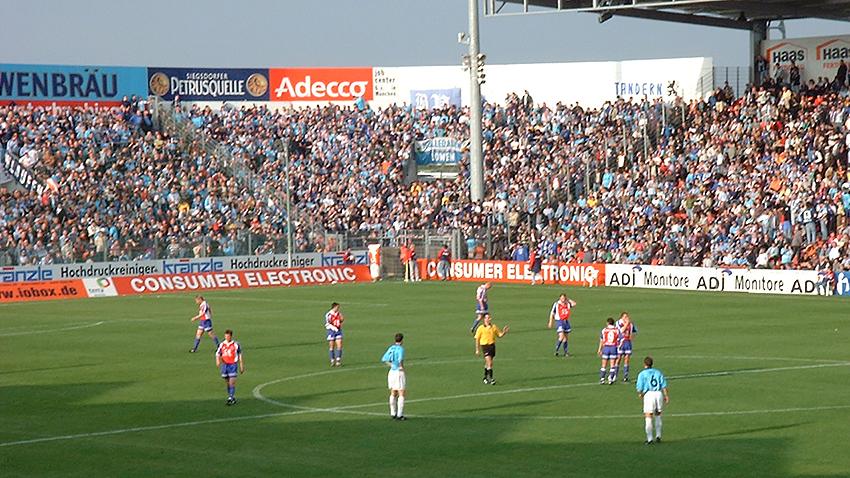 Unterhaching gegen 1860 - Saison 2000/01