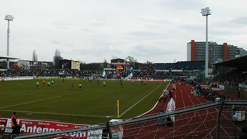 Unterhaching in Wolfsburg Saison 2000/01