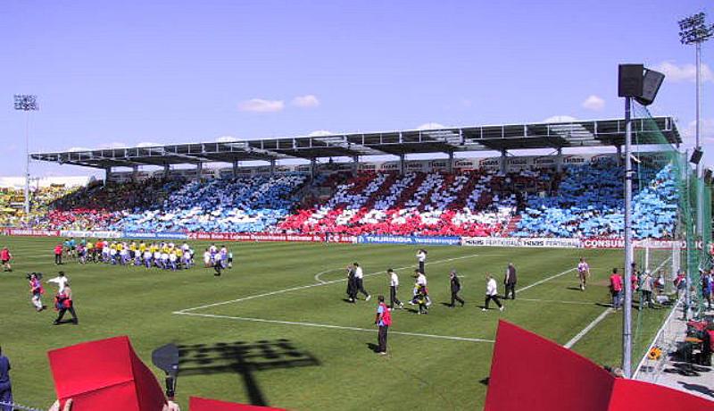Unterhaching gegen Dortmund - Saison 2000/01